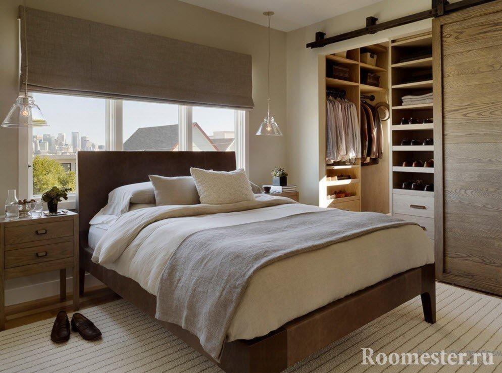 Спальная комната с гардеробом