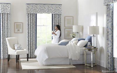 Дизайн штор для спальни — новинки этого года