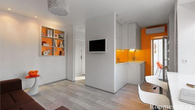 Дизайн однокомнатной квартиры хрущевка 30 кв.м