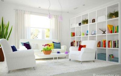 Белый интерьер +80 фото примеров дизайна