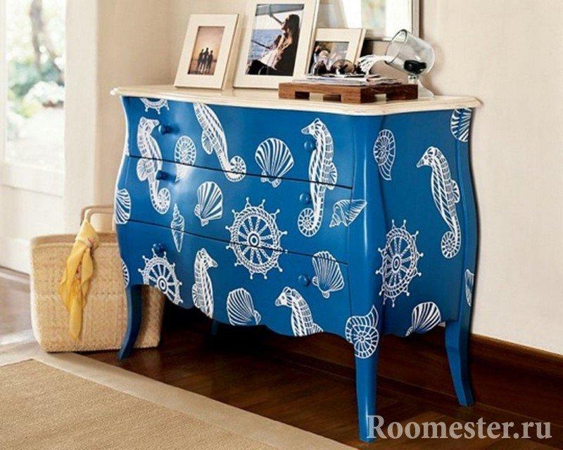 Мебель своими руками красками 345