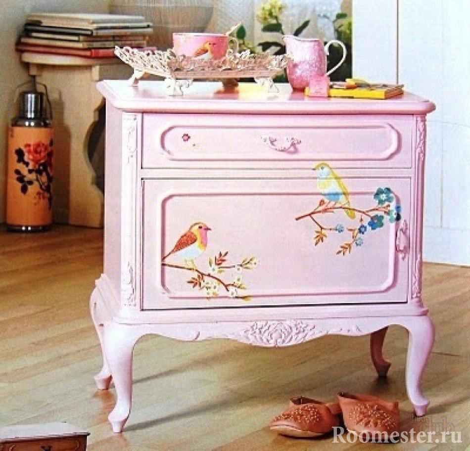 Дизайн старой мебели своими руками 585