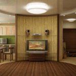 Отделка комнаты под бамбук