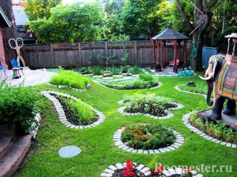 Благоустройство садового участка с фото своими руками 223