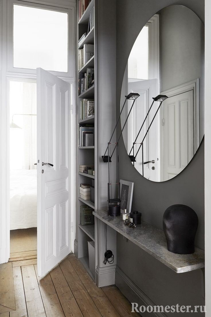 Сочетание серого и белого цвета