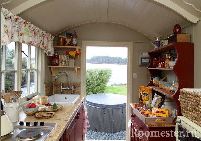 Дизайн маленькой кухни на даче фото 2015 современные идеи