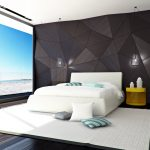 Необычное оформление интерьера спальни