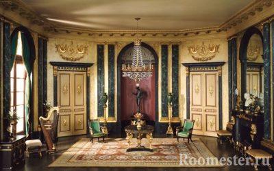Стиль ампир в интерьере — история и современность в дизайне