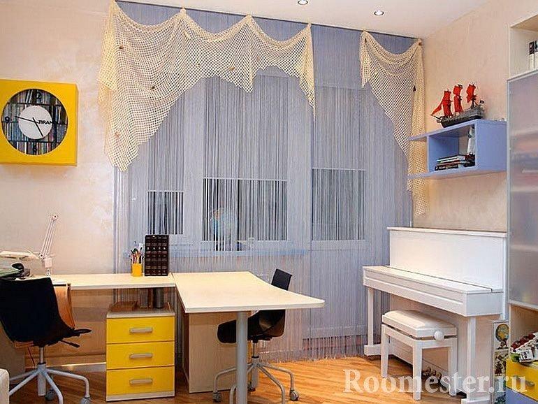 Пианино в детской комнате
