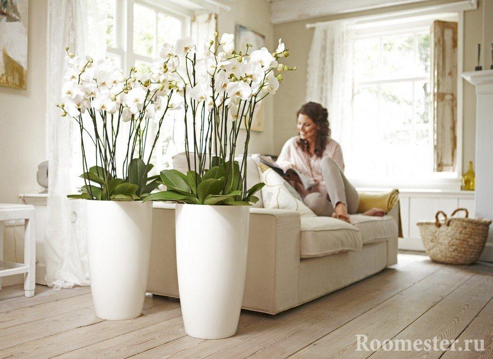 stor gulv blomster dekoration