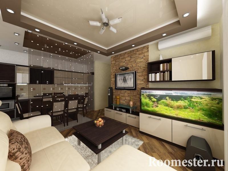 дизайн кухни гостиной 25 кв м фото и проекты интерьера ремонт дома