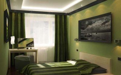 Дизайн спальни 3 на 3 м +60 фото примеров интерьера