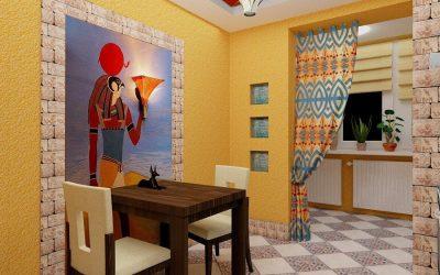 Дизайн стен на кухне +85 фото идей
