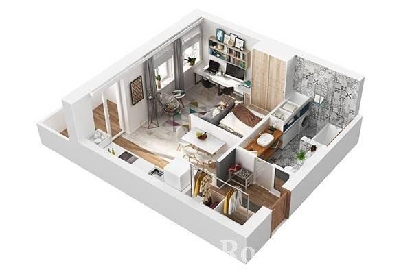Проект дизайна квартиры