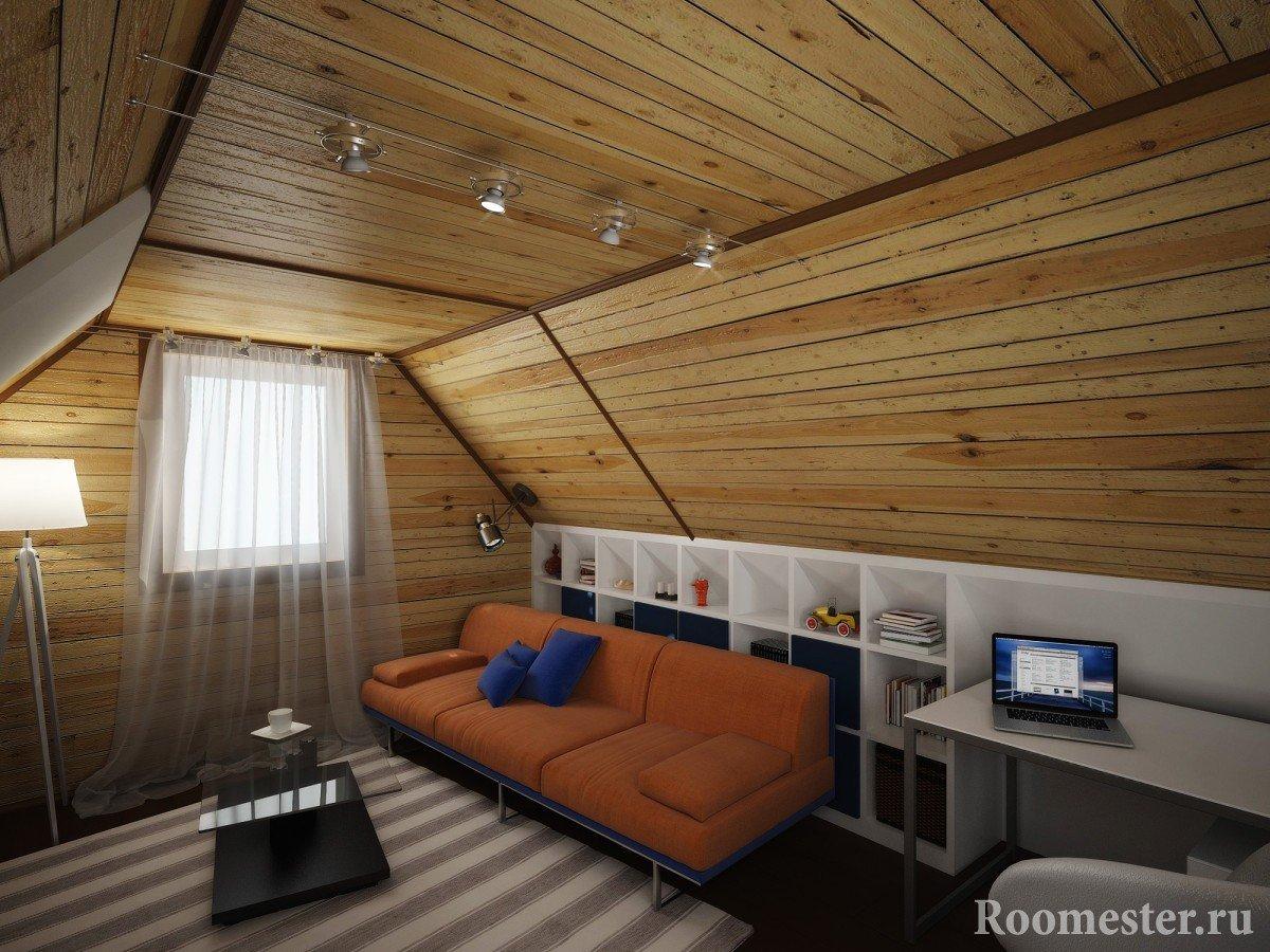 Ремонт комнаты на даче своими руками фото 52