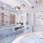 Оригинальный дизайн ванной