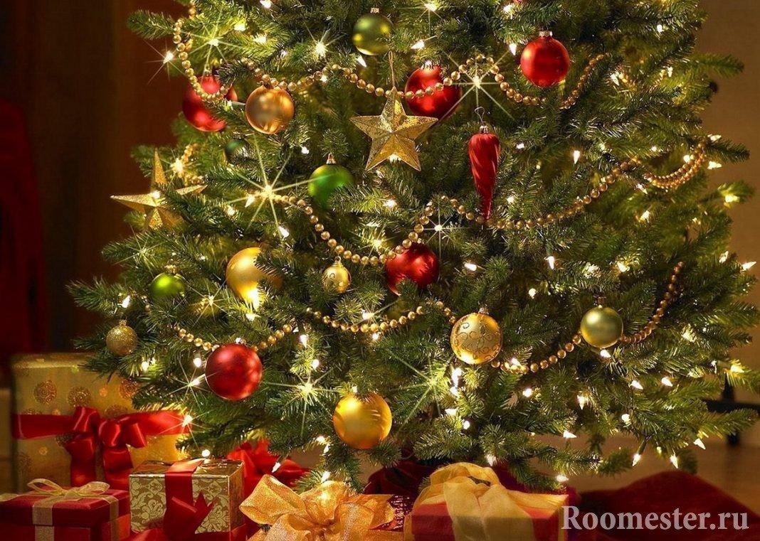 perfekt pyntet juletre