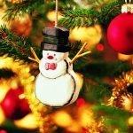 Игрушка в виде снеговика