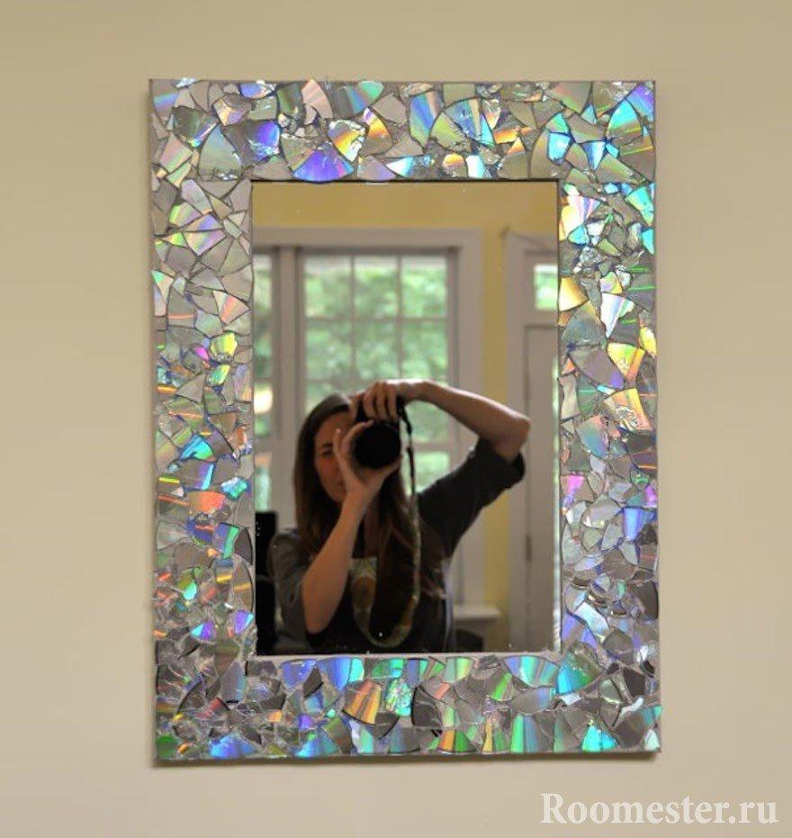 Мозаика рамок для фото своими руками