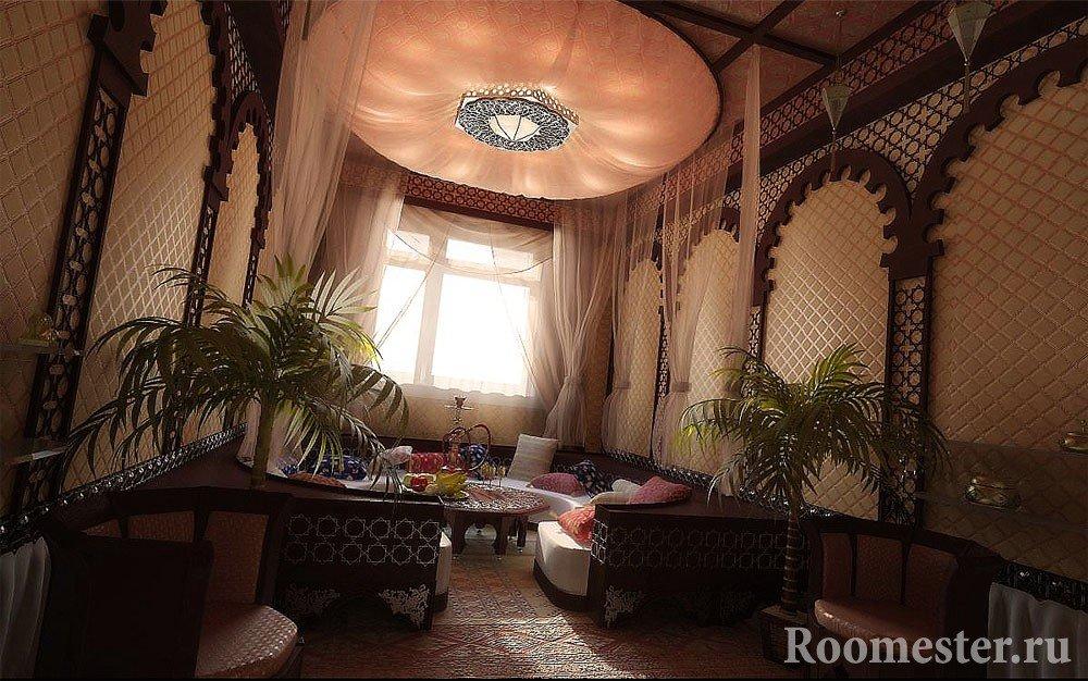 Комната с шикарным интерьером