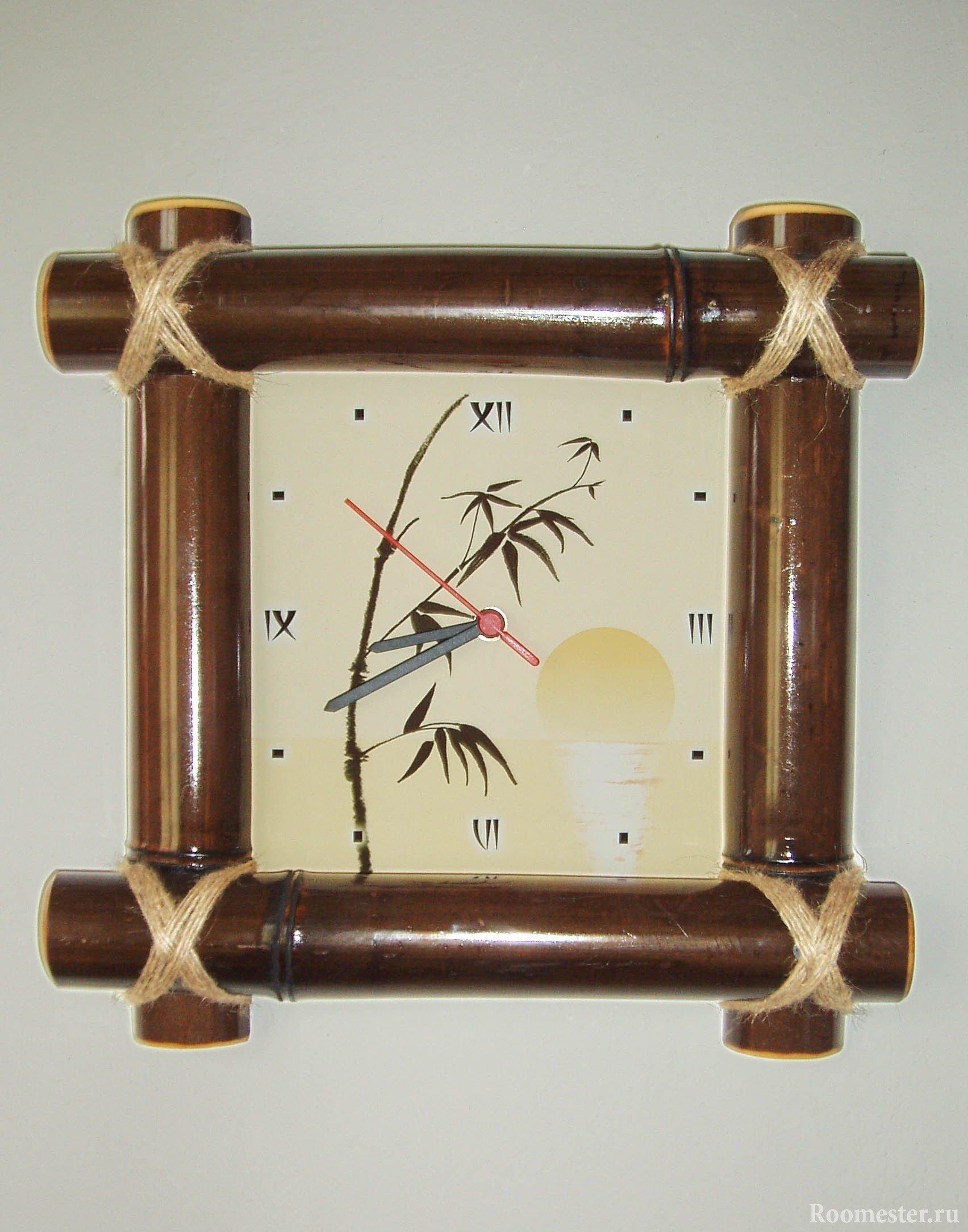 Рамка для часов своими руками