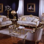 Гостиная с красивой мебелью