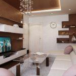 Комната с красивым дизайном