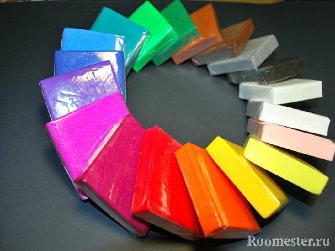 Разноцветная глина