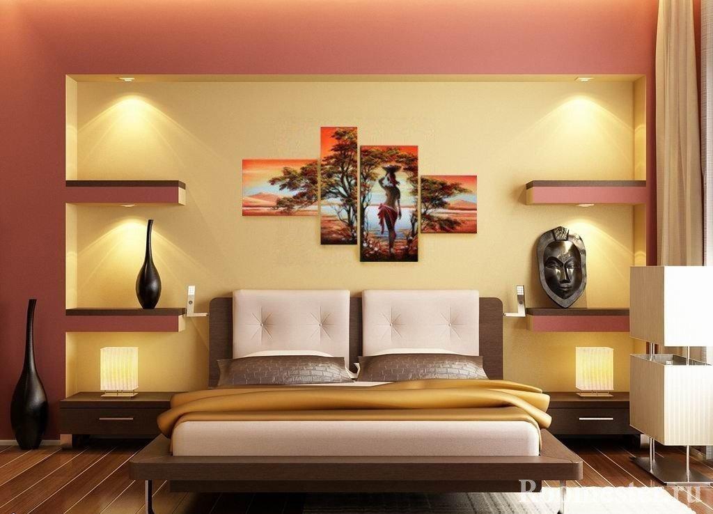 Декор спальни - идеи, советы и 70 фото интерьеров