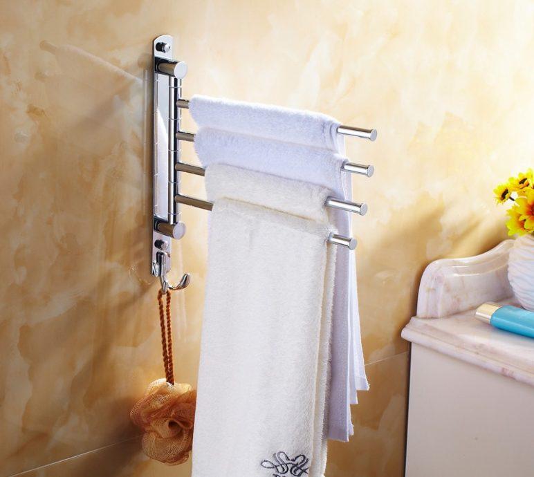 Куда вешать полотенца в ванной комнате