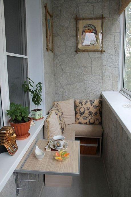 Отделка балкона в екатеринбурге. дизайн и варианты отделки и.