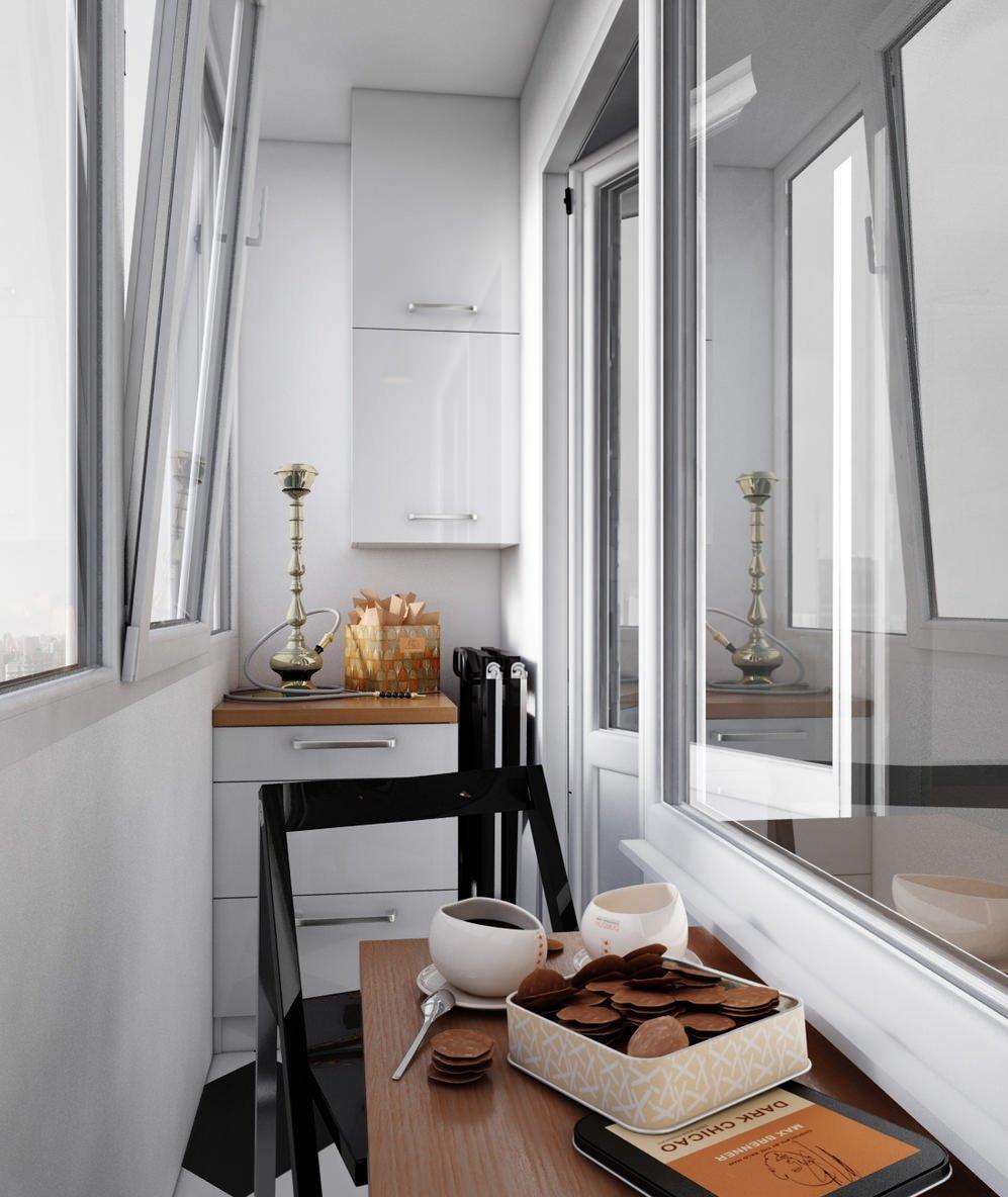 Дизайн хрущевки без балкона