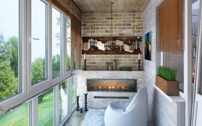 Дизайн балкона — 110 фото идей обустройства