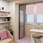 Мягкие цвета в интерьере кухни