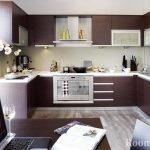 Строгий дизайн кухни