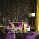 Палитра красок в гостиной для хорошего настроения