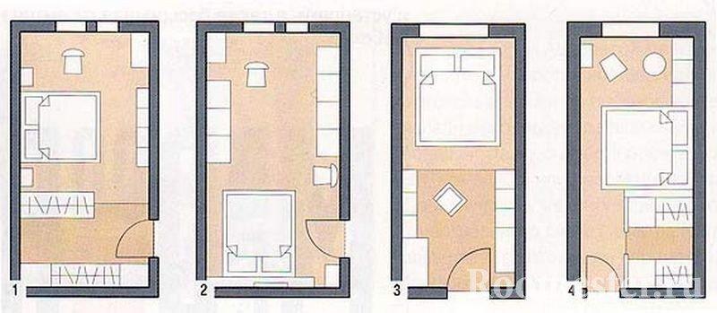 Схема планировок