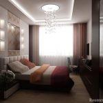 Подсветка на потолке и полках