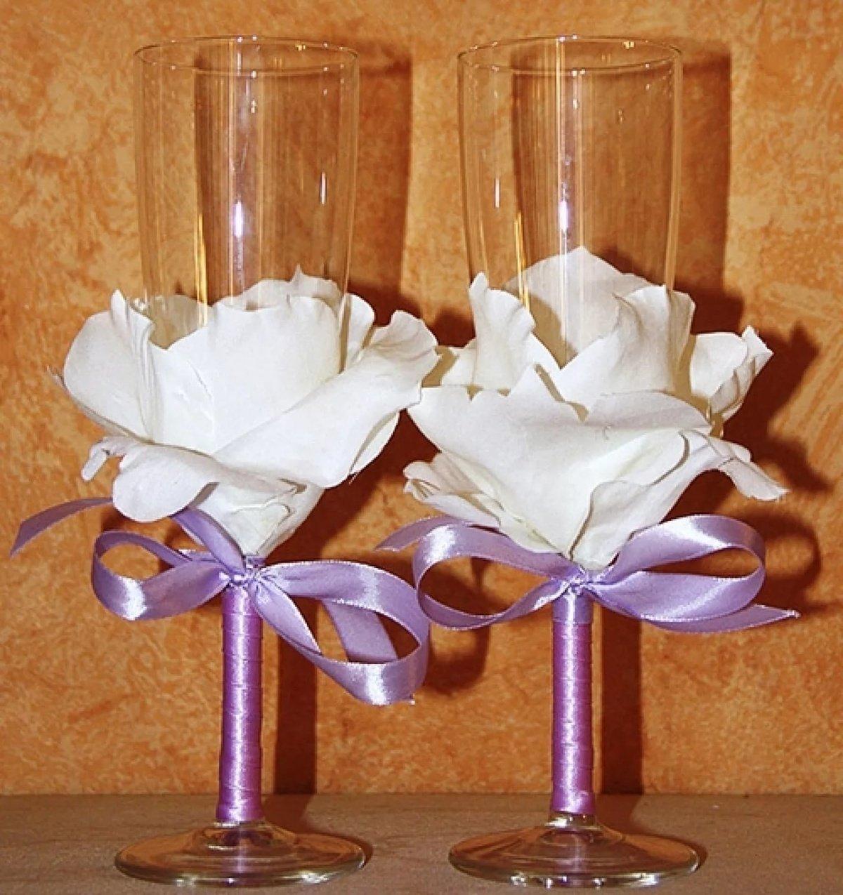 Как украсить стакан своими руками