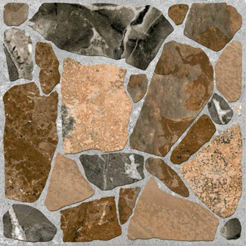Смесь камней на плитке