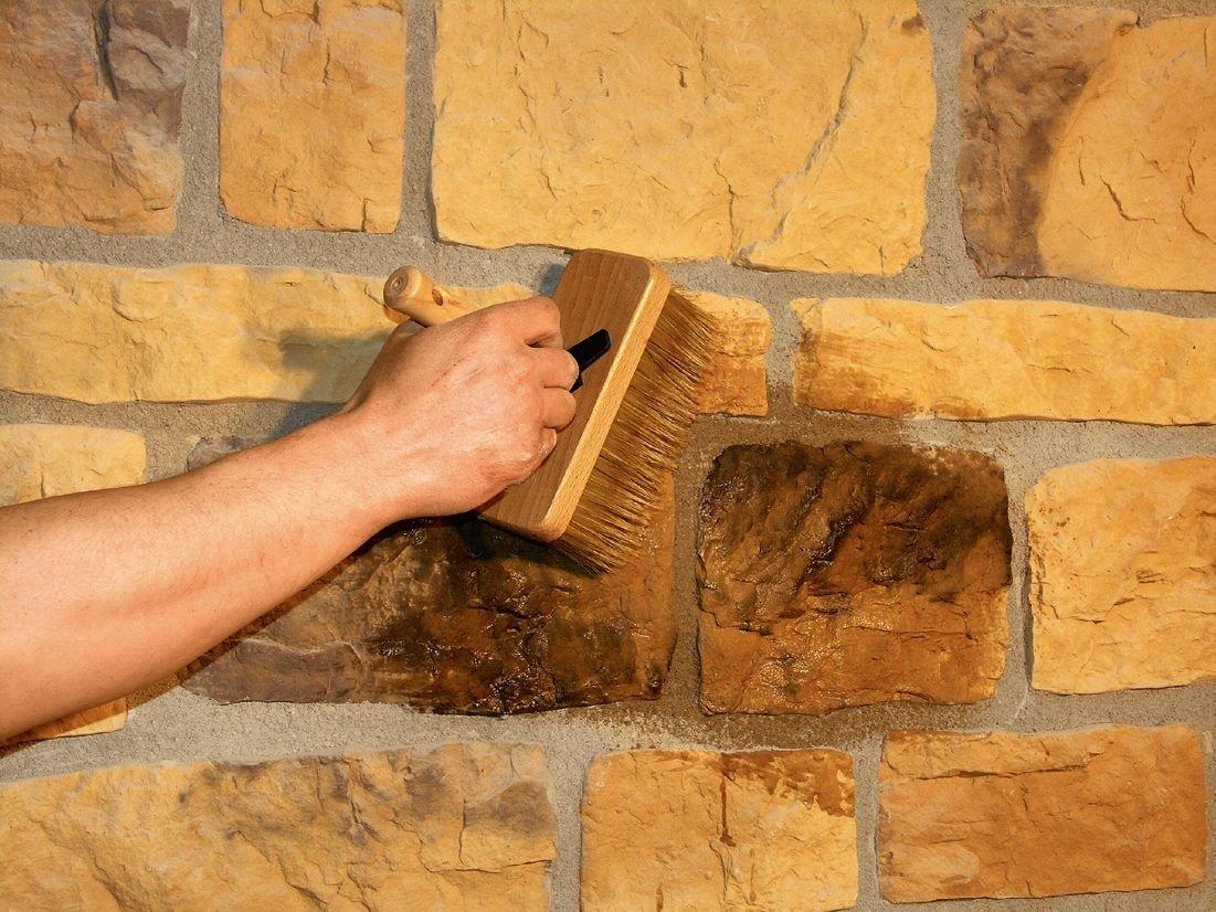 Монтаж декоративного камня своими руками 37