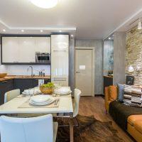 Современный дизайн кухни 16 кв м
