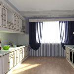 Дизайн кухни с русской печью