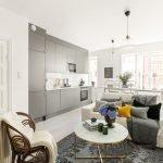 Современный дизайн квартиры 50 кв м