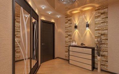 Дизайн прихожей и интерьер коридора на небольшой площади