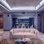 Квартира студия в стиле модерн