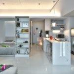 Дизайн квартиры-студии от 30 до 35 кв. м.