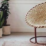 Кресло из каната