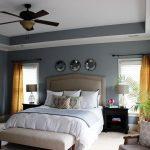 Потолочный вентилятор в спальне