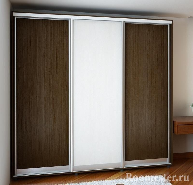 Стильный шкаф-купе из дсп